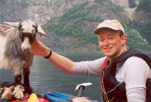 Ik en de geit.