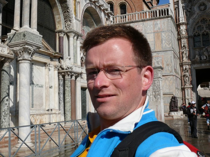 Marcel-Jan in Venetië