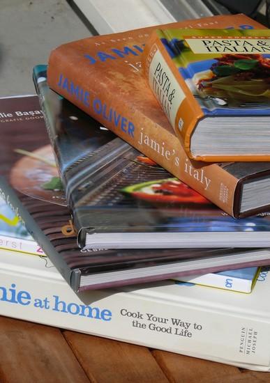 Een selectie van mijn kookboeken